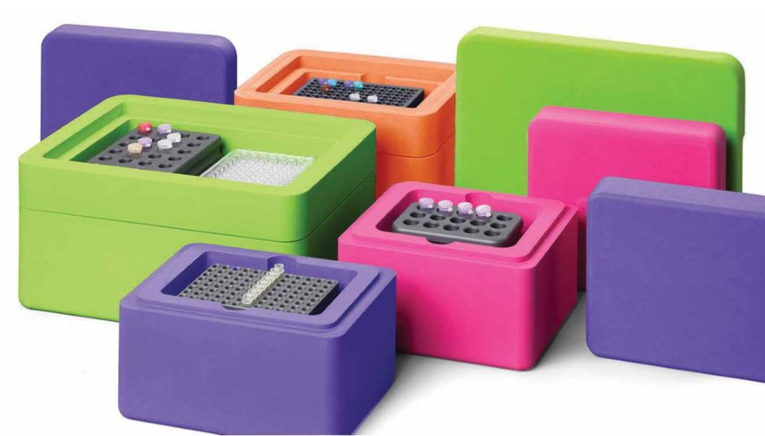 Corning CoolRack and CoolBox