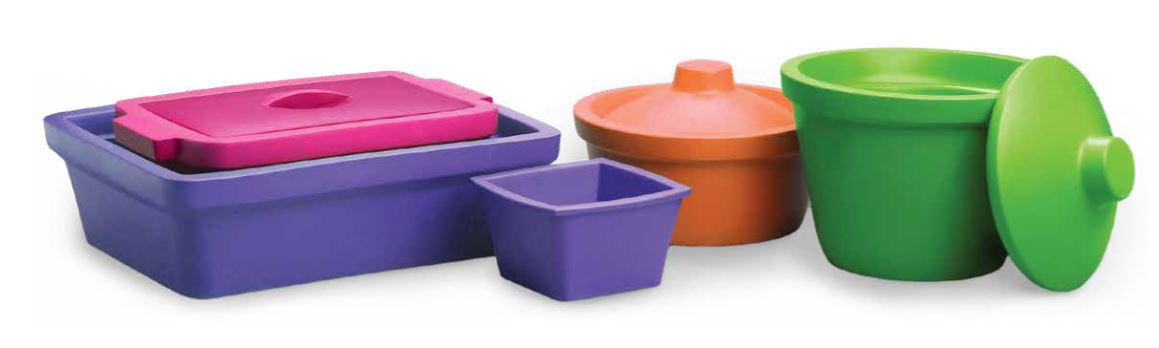 Corning Ice Buckets and Pans