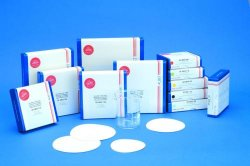 Filter paper, quantitative, coloured, sheets
