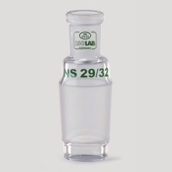 Expansion and reduction adapters, borosilicate glass 3.3