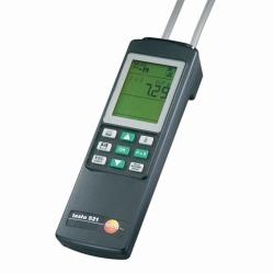 Differential pressure measuring instrument testo 521-1