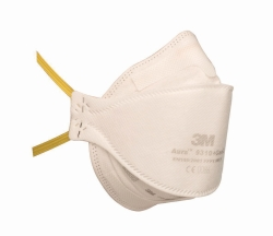 Respirators Aura™ 9300+Gen3, Series, Folding Masks