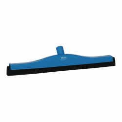 Floor squeegee with replacement cassette
