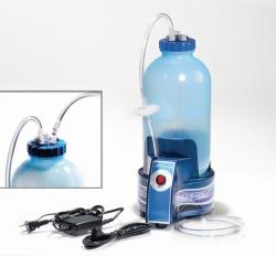 Hiflow vacuum aspirator system with pump