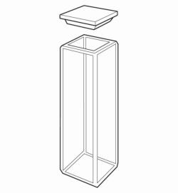 Standard rectangular fluorometer cells