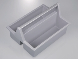 Bottle carrier box, HDPE