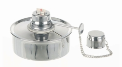 Spirit burner, 18/10 stainless steel