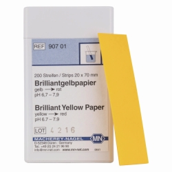 Indicator papers without colour scale