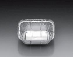 Aluminium containers, square