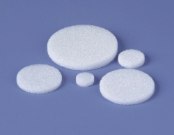 Glass filter discs, borosilicate glass 3.3