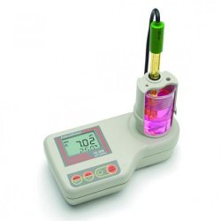 Laboratory pH Meter with built in Magnetic Stirrer, HI 208-02