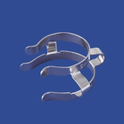 Clips for conical joints type Keck™, nickel
