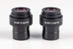 Wide field eyepieces N-WF for BA & AE series