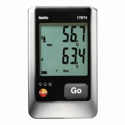 Temperature data logger testo 176 T4
