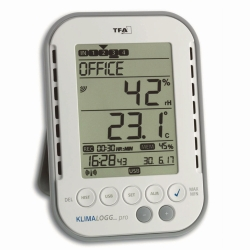 Professional thermo-hygrometer with data logger KlimaLogg Pro