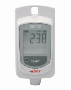 Wireless temperature data loggers EBI 25-T/TE