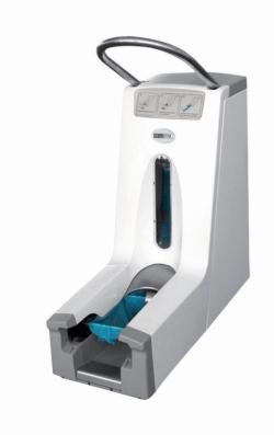 Overshoe dispenser HYGOMAT COMFORT / CLEANROOM