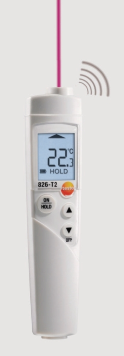 Infrared thermometers, testo 826 series