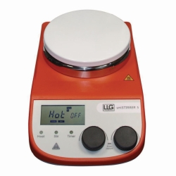 Magnetic stirrer with heating LLG-uniSTIRRER 5, complete package