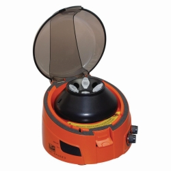 Mini centrifuge LLG-uniCFUGE 3 with timer and digital display
