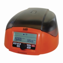 Mini centrifuge LLG-uniCFUGE 5 with timer and digital display