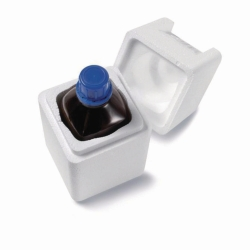 Safety boxes, Styrofoam® (EPS) with lid