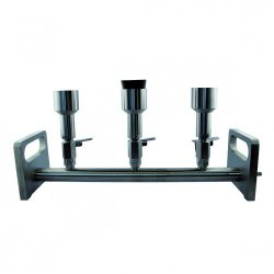 LLG-vacuum manifold, stainless steel