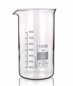 Beakers, Borosilicate glass 3.3, tall form