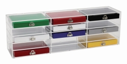 Storage Rack for Microscope Slide Boxes, Acrylic