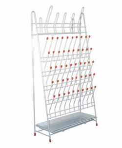 LLG-Draining racks, PE-coated wire