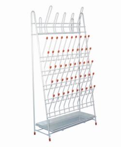 LLG-Draining racks, PE-coated wire