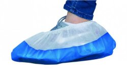 LLG-Disposable Shoe Covers, PP, with CPE sole