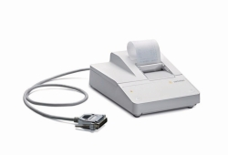 Printer for balances and moisture analysers