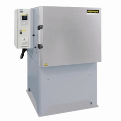 High-temperature chamber furnaces with air circulation NA / N