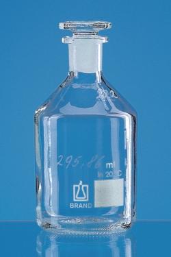 Oxygen flasks Winkler pattern, soda-lime glass