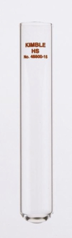 High speed centrifuge tube, borosilicate glass