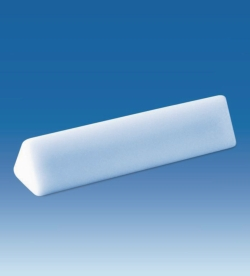 Magnetic stirring bars, triangular, PTFE