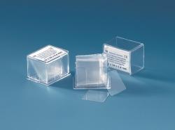 Haemacytometer cover glasses, borosilicate glass