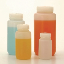 Fluorinated Wide-Mouth Bottles Type 2197, HDPE