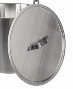Lids for buckets 18/10 stainless steel