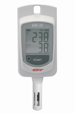 Wireless temperature data logger EBI 25-TH