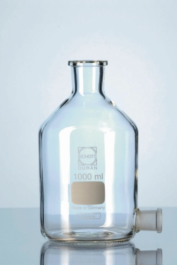 Aspirator bottles, Duran®, conical joint outlet tubulure, without stoppers