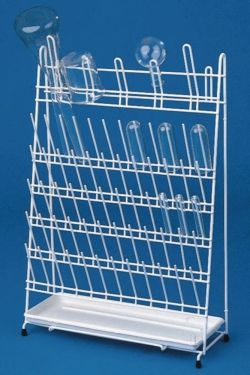 Draining racks, PE-coated wire