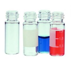 Sample vials, screwthread top