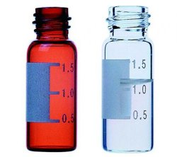Sample vials, screwthread top