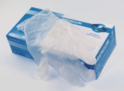 Disposable Gloves Premium, Vinyl, Powder-Free