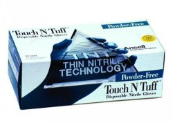 Disposable Gloves Touch N Tuff®, Nitrile, Powder-Free