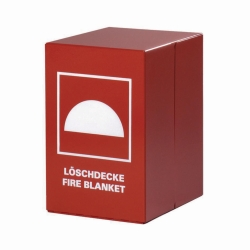 Container for Fire Blanket