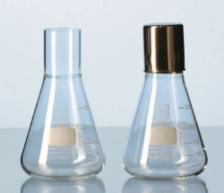 Culture flasks, glass DURAN®, straight neck