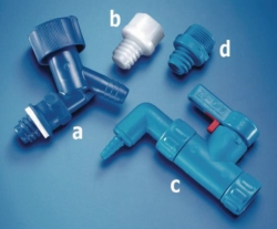 Accessories for series 350 aspirator bottles